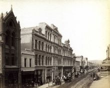 Click To View Rundle Street c1885