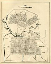 Plan Of The City Of Adelaide 1890