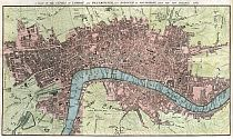 A Plan Of The Cities Of London And Westminster 1767