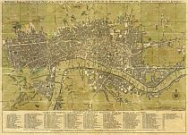 Bowles's Reduced New Pocket Plan Of London 1775