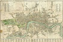 Cary's New And Accurate Plan Of London And Westminster 1795
