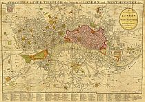 Darton's New And Correct Plan Of London And Westminster 1814