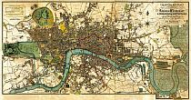 Darton's New Plan Of The Cities Of London & Westminster, & Borough Of Southwark, 1817