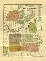 Frearson's Plan Of Adelaide c1880