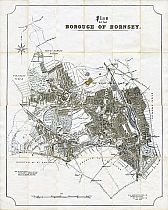 Plan Of The Borough Of Hornsey 1925