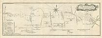 A Plan Of The Intended New Road From Paddington To Islington January 1756