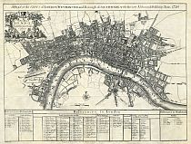 Senex's 1720 Plan Of London