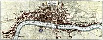 The City Of London As In Queen Elizabeth's Time