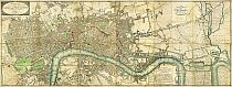 Wallis's Plan of the Cities of London and Westminster 1804