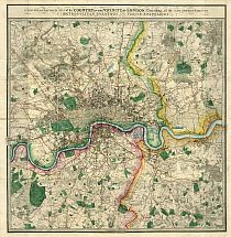 Wyld's Map Of London c1872