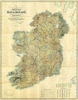Oldest Map Of Ireland.Mapco News