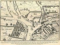 Click Here To View The Map Of The Village Of Charing 1578