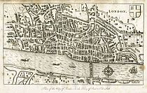 Click Here To View Plan of the City of London in the Time of Queen Elizabeth 1593