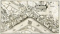 Plan of the City of Westminster in the Time of Queen Elizabeth 1593