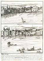 Click Here To View Part of Visscher's Panoramic View of London 1616
