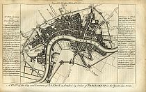 Click Here To View Fortifications of London In 1642 & 1643