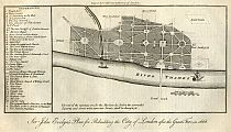 Click Here To View Evelyn's Plan For Rebuilding The City Of London After The Great Fire In 1666