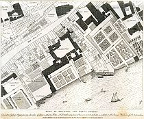 Click Here To View The Plan of Arundel and Essex Houses 1677