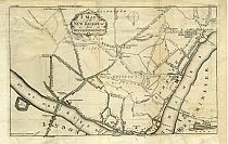 A Map of the New Roads &c. from Westminster Bridge 1753