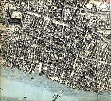 Map Of London c1517