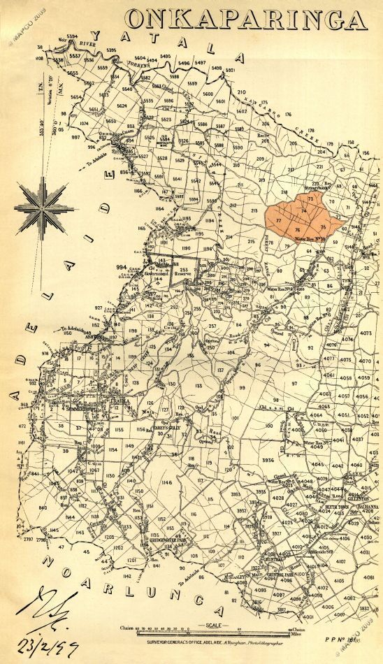 Mapco Map And Plan Collection Online Hundred Of