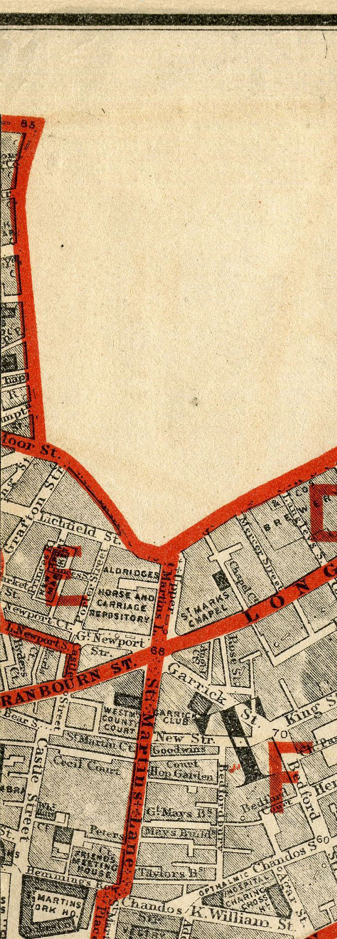 MAPCO Map And Plan Collection Online : Stanford's School